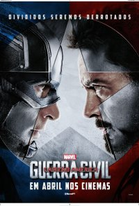 Poster do filme Capitão América: Guerra Civil / Captain America: Civil War (2016)